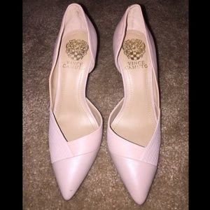 Vince Camuto BlushPointed Toe D-orsay Pumps